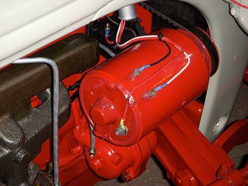 Ford 8n Terminal Block : N wiring harness questions ford forum