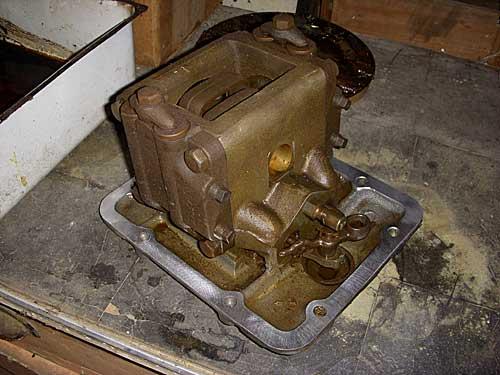 8n Hydraulic Pump Removal