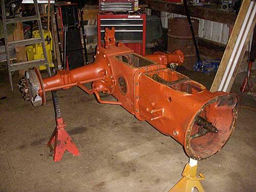 Ford 9n Hydraulic Pump Removal : Peachtree prairie farms